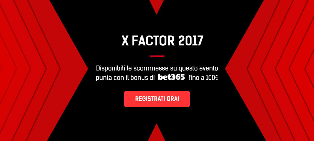 Quote Scommesse X Factor