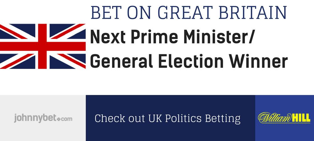 Next UK Prime Minister Odds