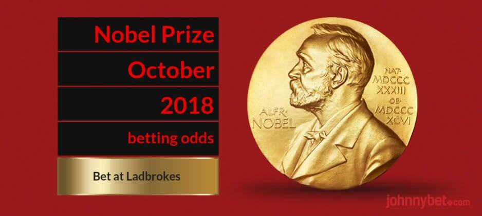 Nobel prize chemistry betting odds kwr 37 crypto currency
