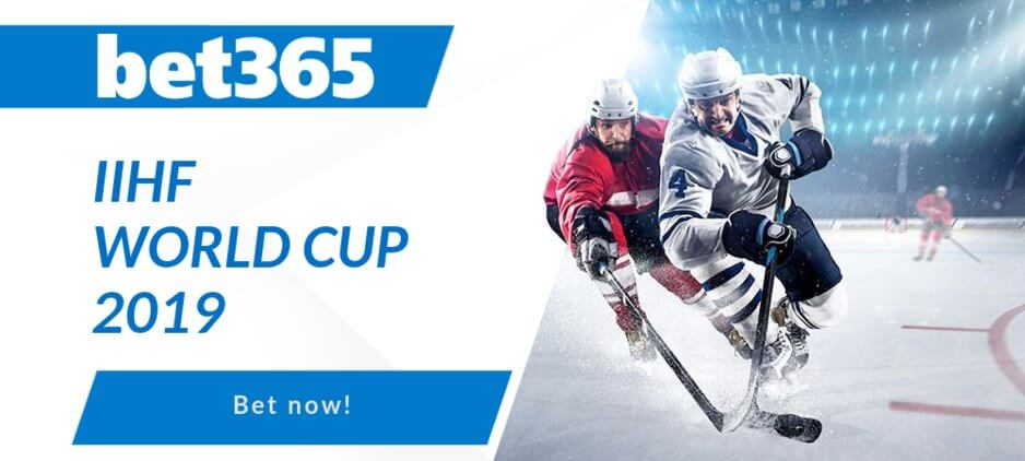 IIHF Ice Hockey 2019 World Championship Betting Odds