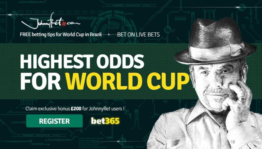World Cup 2014 - Betting Odds for England
