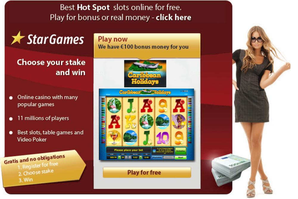 Play slots online for free and win money