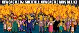 Newcastle vs sheffield memes