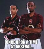 Once upon a time at arsenal memes