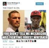Mcgregor fighting memes