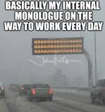 The way to work memes