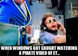Pirate video memes