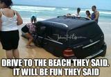 Drive to the beach memes