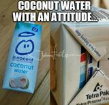 Coconut water memes