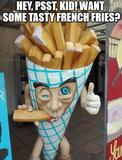 French fries memes