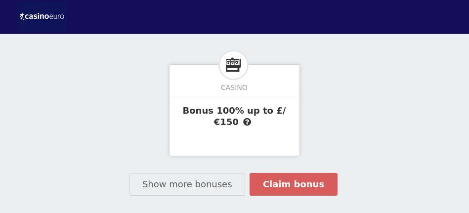 casinoeuro bonus code