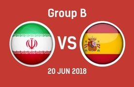 Iran vs spain predictions