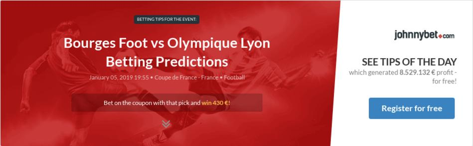 Bourges Foot vs Olympique Lyon Betting Predictions, Tips, Odds