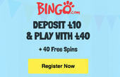 Bingo.com casino welcome deposit bonus