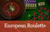 Play European Roulette for real money