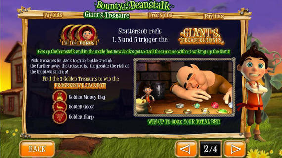 Bounty of the Beanstalk slot review
