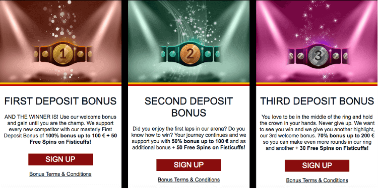 Lady Hammer Casino Welcome bonus Free spins