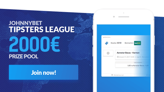Johnnybet's Tipsters League and tipping competition