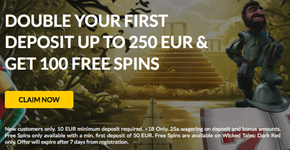 bonkers bet casino welcome offer