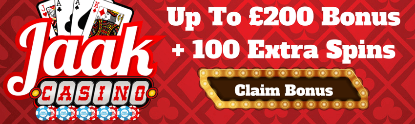 Jaak Casino bonus code welcome promo