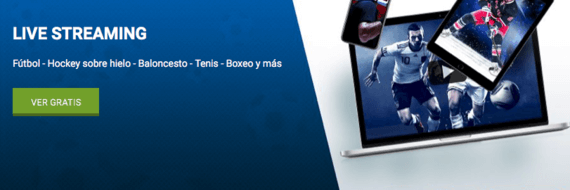 streaming en directo 1xBet