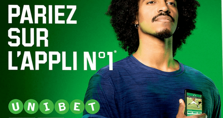 Une application mobile Unibet