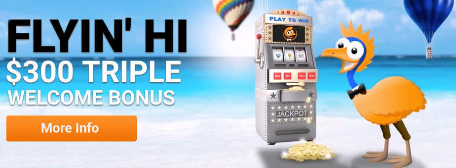 Emu Casino Welcome Bonus