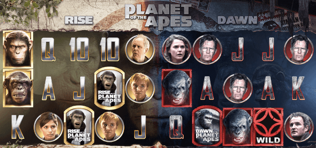 La Fiesta Casino Planet of the Apes Slot