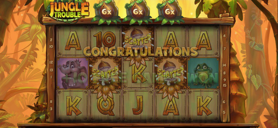 Jungle Trouble caça-niquel casino bet365